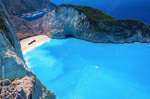 ギリシャ・ザキントス島 ナヴァイオビーチの風景 1