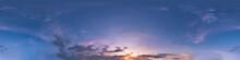 Seamless Dark Sky Before Sunse...