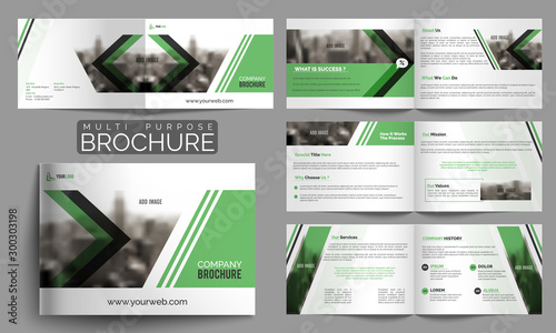 Fotografie, Tablou  Multipurpose Brochure or Cover Design.