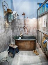 Design Of Interior Of Bathroom...