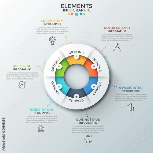 Fotografía  Modern Infographic Template