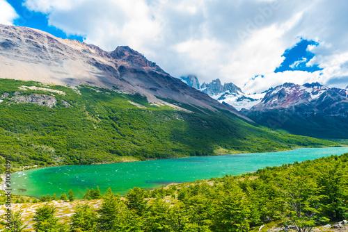 Lagunas Madre e hija lake in Los Glaciares National park in Argentina