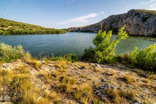 Photo Atarceder en el embalse de Los Rabanos. Soria. España. Europa.