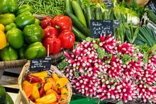 Des Légumes Sur Un March&eac