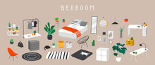 Set For Badroom With Stylish C...