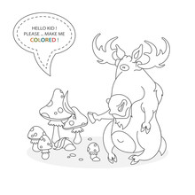 Black And White Coloring Book ...