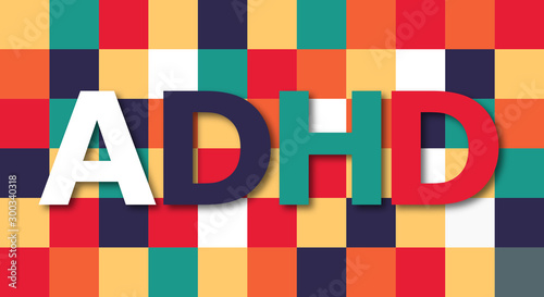 Photo ADHD - attention deficit hyperactivity disorder