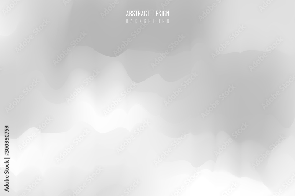 Fototapety, obrazy: Abstract gray gradient minimal style design background. illustration vector eps10