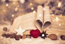 Weihnachten Buch Mit Herz