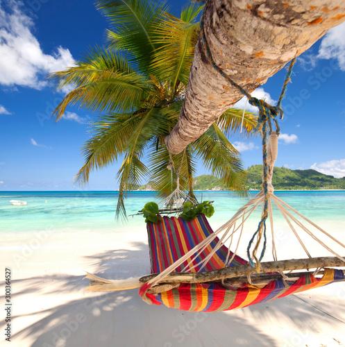 Deurstickers Tropical strand glücklich sein am Strand