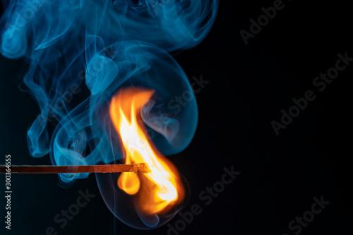Valokuvatapetti Flamme
