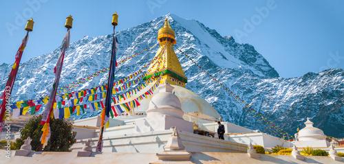 Fotografia Bodhnath stupa
