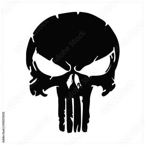skull and Bones icon Fototapet