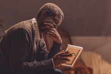 Senior, Depressed African Amer...
