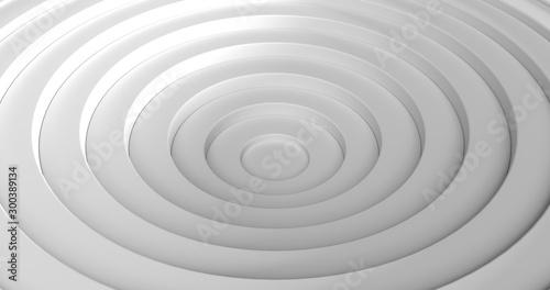 Fotomural  circle wave