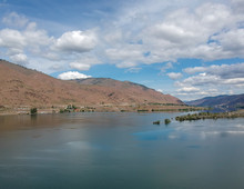 Outstanding Aerial Photography Of Picturesque Lincoln Rock State Park And Beautiful Lake Entiat And Swakane Canyon In Douglas County East Wenatchee Washington State