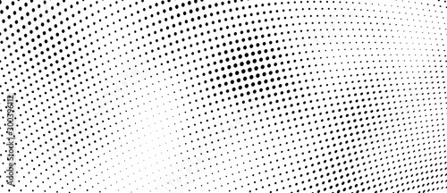 The halftone texture is monochrome. Vector chaotic background Canvas-taulu