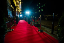Red Carpet For Cinema Awards And Fashion Awards Ceremony For Celebrities Persons