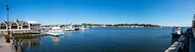 Yachts At Pier On Merrimack Ri...