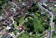 Aerial Views Of Historic Lewes...