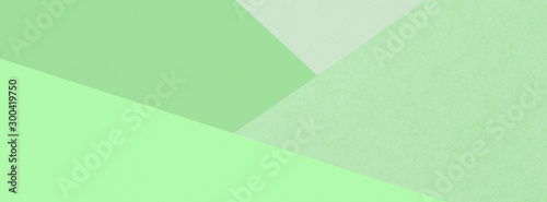 Obraz na plátne Different green pale backgrounds.