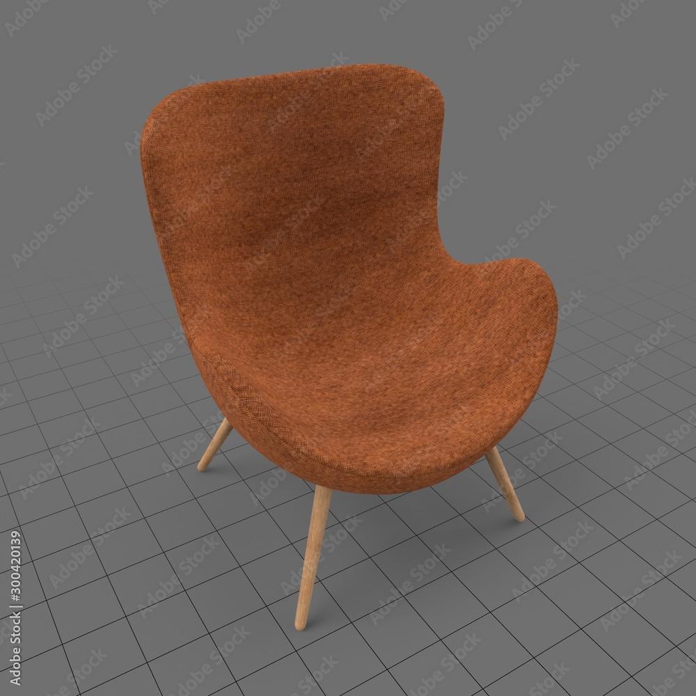 Fototapeta Modern chair