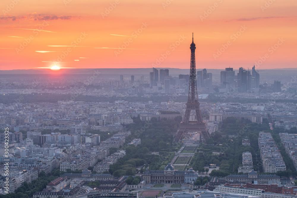 Eifel tower at sunset