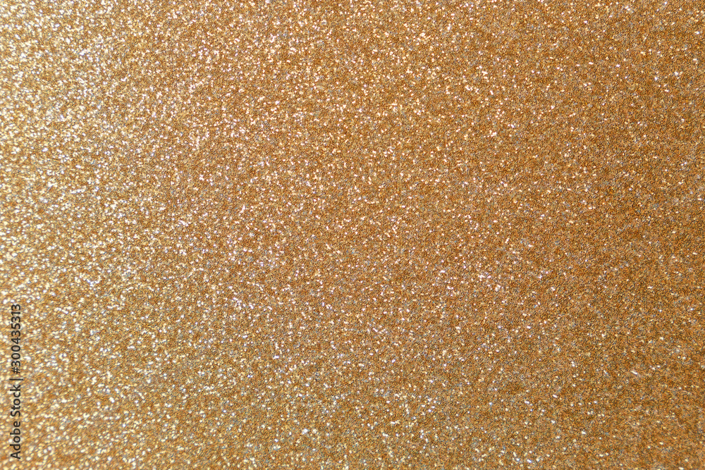 Fototapety, obrazy: Golden glitter texture. Christmas abstract background. Abstract Bright gold shiny background. Bright halftone pattern. Light paper texture for luxury elegant backdrop design wallpaper or template