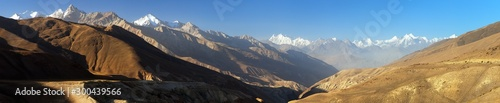 Photo Hindukush mountains, Tajikistan and Afghanistan