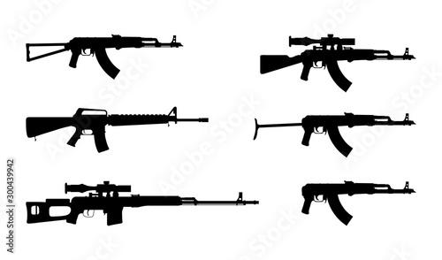 Fotografia Kalashnikov rifle