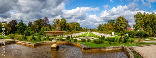 Schlossgarten, Neustrelitz, Zierker See, Deutschland