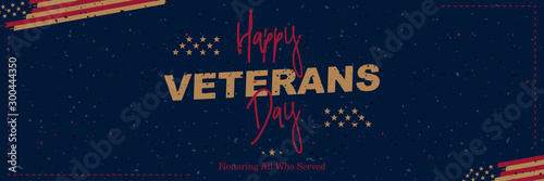 Fototapeta  Happy Veterans Day