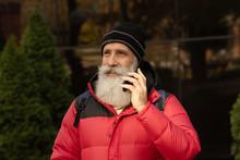 Handsome  Senior Bearded Man I...