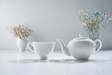 Composition With White Porcela...