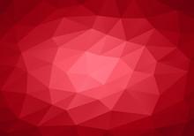 Fond Rouge Géométriqu