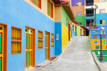 Beautiful And Colorful Street ...