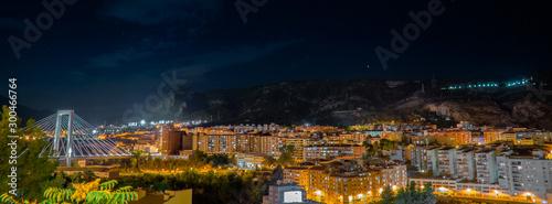 Fotografie, Obraz  Alcoy en la noche.