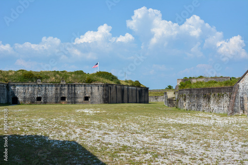 Fort Pickens historical fort in Pensacola, Florida