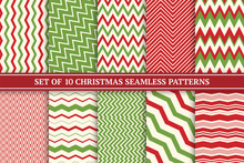 Christmas Seamless Colorful Zi...