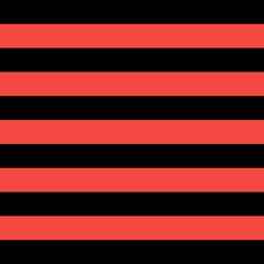 Pattern red and black horizontal strips