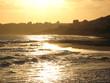 Menfi Beachat Sunset , Agrigento Province in Sicily