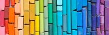 Chalk Various Colors, Rainbow ...