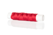 One Whole Red Sewing Thread Sp...