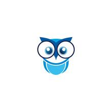 Owl Logo Design Vector Templat...