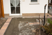 Preparation Of Paving For The ...