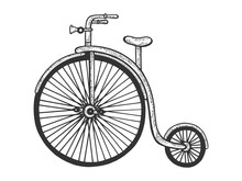 Penny Farthing High Wheel Bicy...