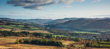 Panoramic View Of Pitlochry In...