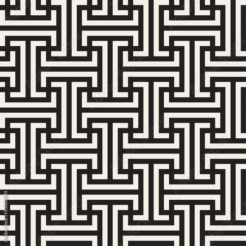 Fotografiet Vector seamless pattern