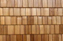 Wooden Shingles Background