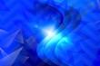 canvas print picture - abstract, blue, design, illustration, wave, lines, curve, light, digital, wallpaper, technology, pattern, line, waves, backdrop, graphic, backgrounds, texture, art, futuristic, motion, gradient, comp